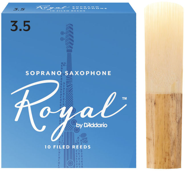 Royal Soprano Sax 3,5 DAddario Woodwinds