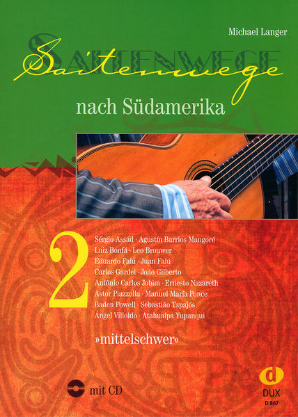 Edition Dux Saitenwege Südamerika 2