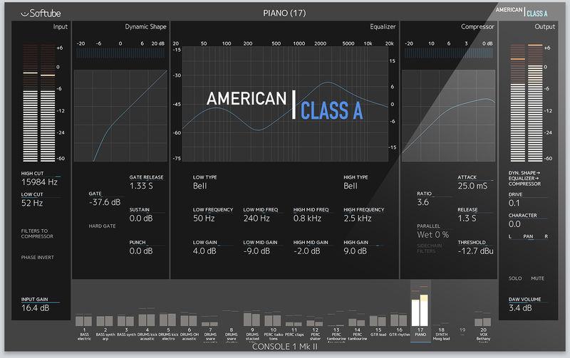 Softube American Class A CG Console 1