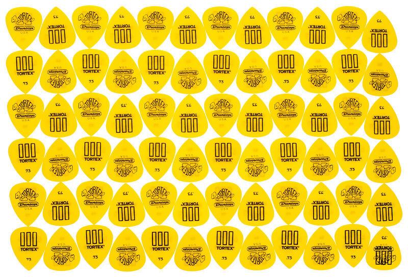 Dunlop Tortex III Riffle 073 Pack