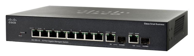 Cisco SG350-10 Switch
