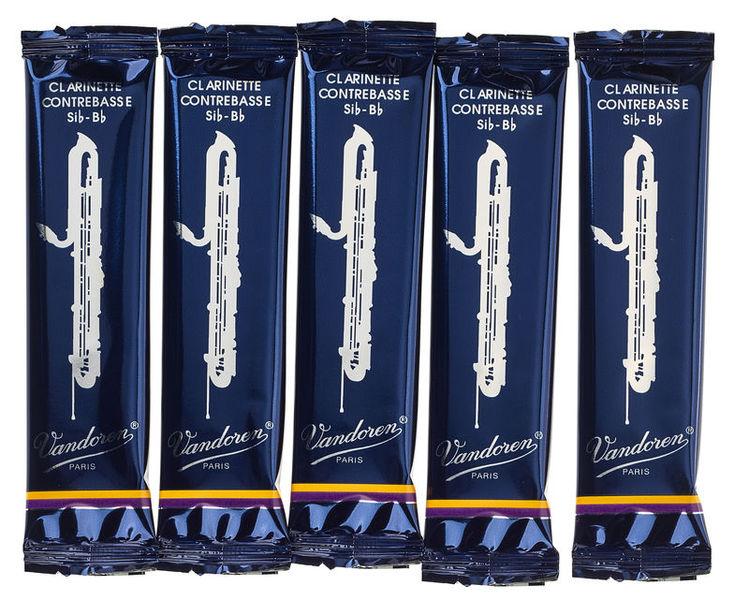 Vandoren Classic Blue Contrab. Clar. 2