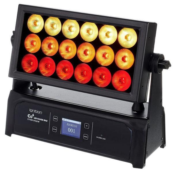 Ignition Co6 LED Flood IP65 270W RGBW