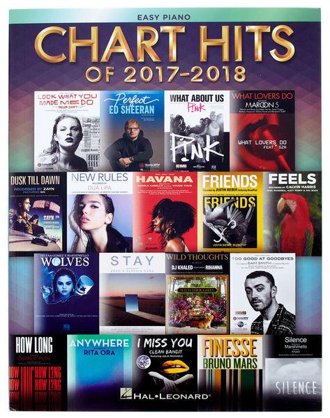 Hal Leonard Chart Hits Of 2017-2018: Easy
