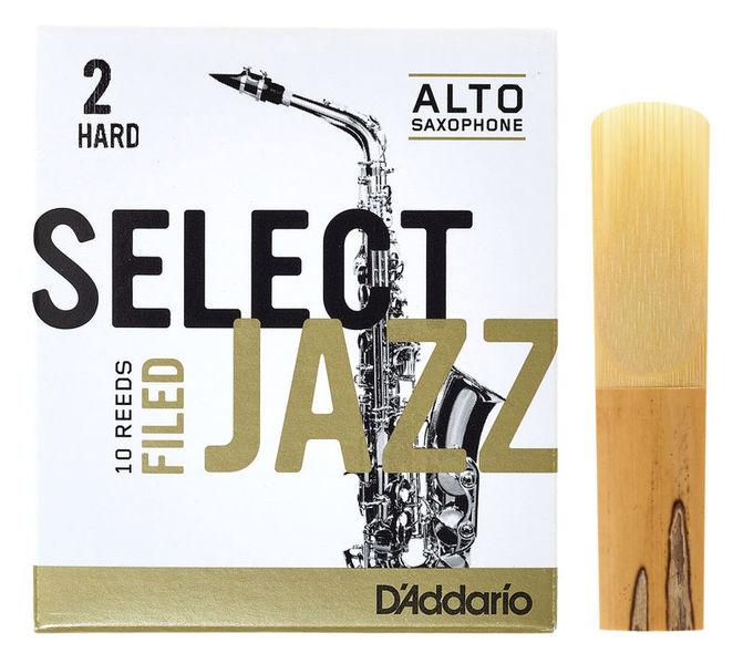 DAddario Woodwinds Select Jazz Filed Alto 2H