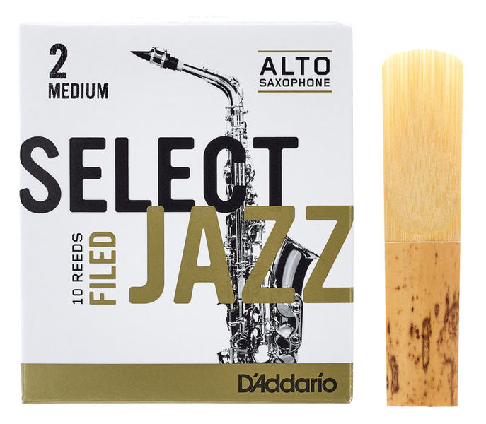 Select Jazz Filed Alto 2M DAddario Woodwinds