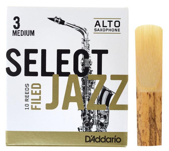 Select Jazz Filed Alto 3M DAddario Woodwinds