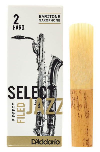 DAddario Woodwinds Select Jazz Filed Baritone 2H