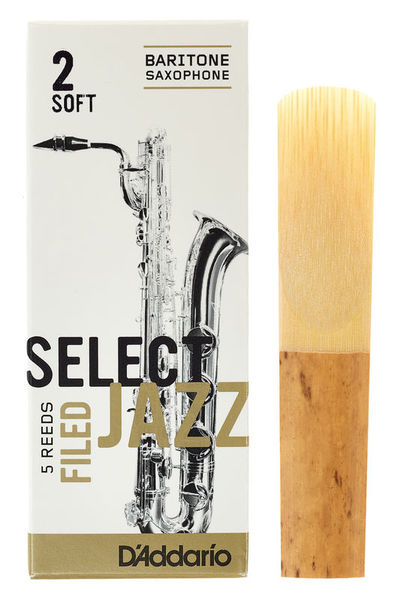 DAddario Woodwinds Select Jazz Filed Baritone 2S