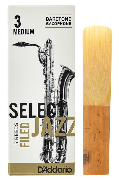 DAddario Woodwinds Select Jazz Filed Baritone 3M