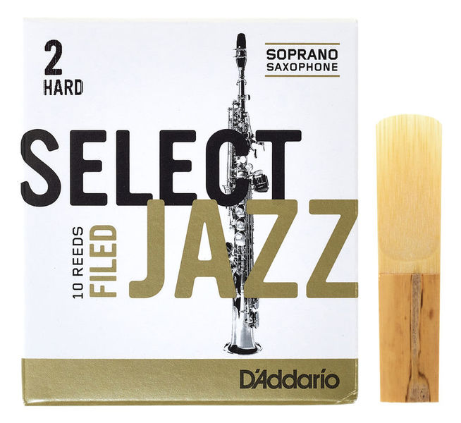 DAddario Woodwinds Select Jazz Filed Soprano 2H