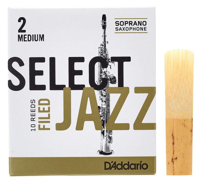 DAddario Woodwinds Select Jazz Filed Soprano 2M