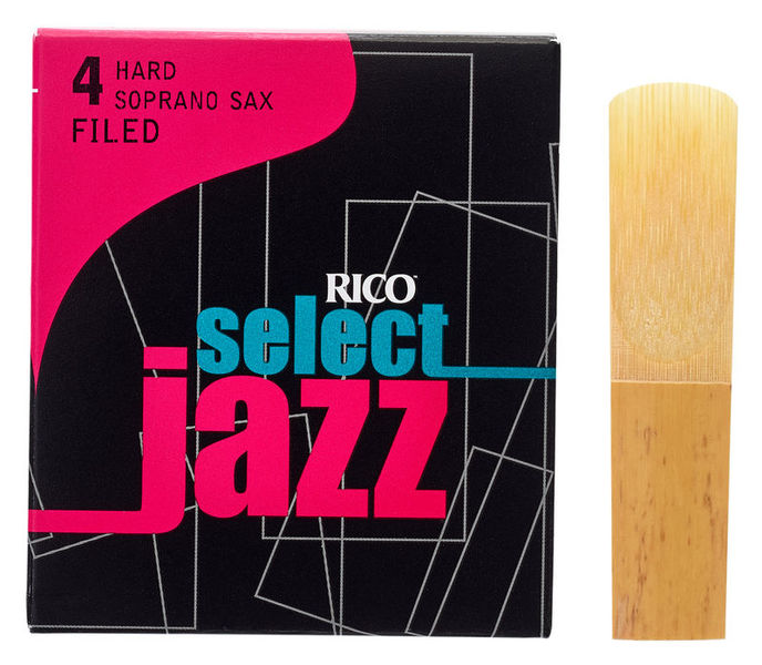 DAddario Woodwinds Select Jazz Filed Soprano 4H