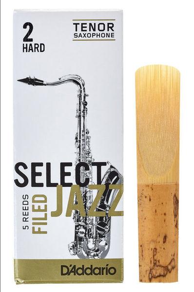 D/'Addario Woodwinds Select Jazz Filed Tenor Sax 2H