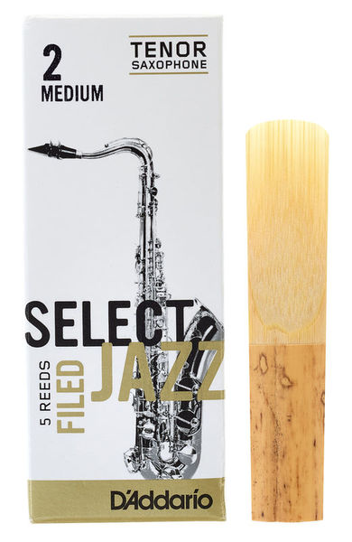 DAddario Woodwinds Select Jazz Filed Tenor 2M