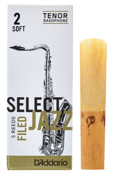 DAddario Woodwinds Select Jazz Filed Tenor 2S