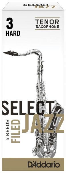 Select Jazz Filed Tenor 3H DAddario Woodwinds