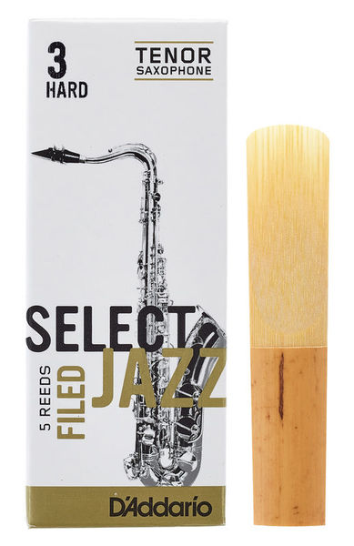 DAddario Woodwinds Select Jazz Filed Tenor 3H