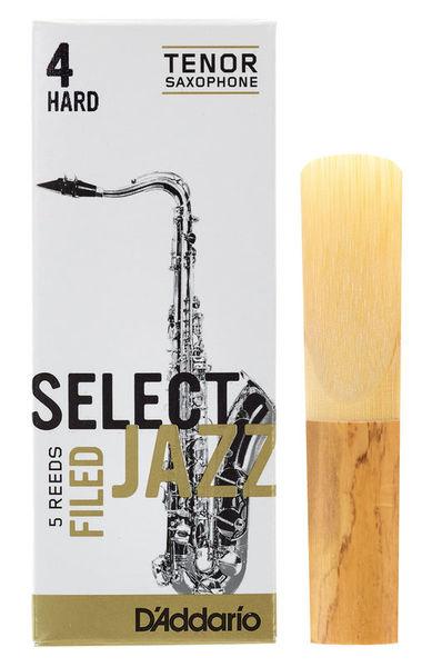 DAddario Woodwinds Select Jazz Filed Tenor 4H