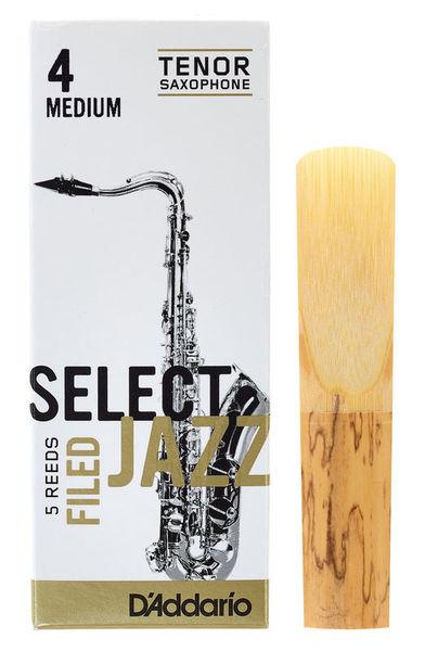 DAddario Woodwinds Select Jazz Filed Tenor 4M
