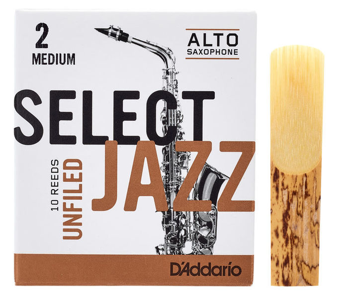 Select Jazz Unfiled Alto 2M DAddario Woodwinds