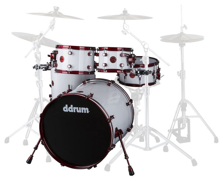 Reflex White Wrap Red DDrum