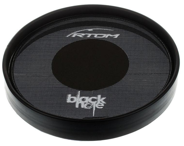 "Rtom 08"" Black Hole Practice Pad"