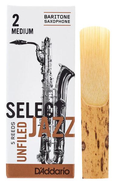 DAddario Woodwinds Select Jazz Unfiled Bariton 2M