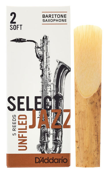 DAddario Woodwinds Select Jazz Unfiled Bariton 2S