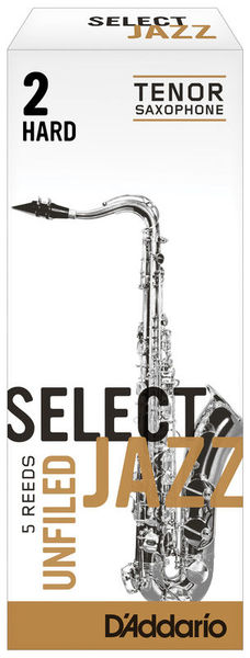 Select Jazz Unfiled Tenor 2H DAddario Woodwinds
