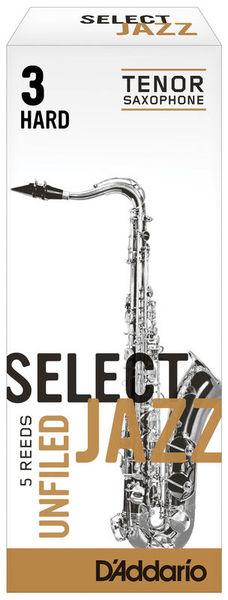 Select Jazz Unfiled Tenor 3H DAddario Woodwinds