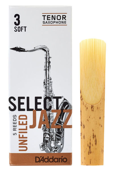 DAddario Woodwinds Select Jazz Unfiled Tenor 3S