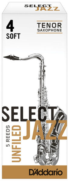 Select Jazz Unfiled Tenor 4S DAddario Woodwinds