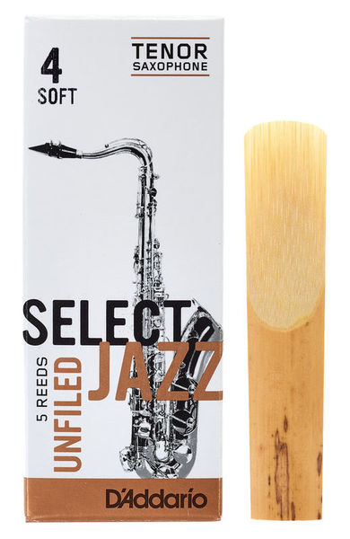 DAddario Woodwinds Select Jazz Unfiled Tenor 4S