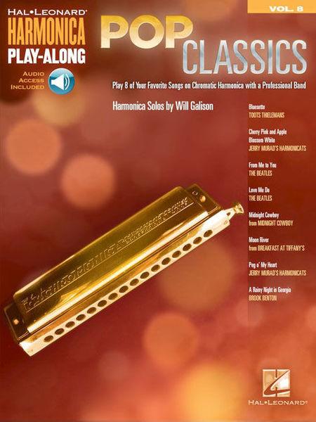 Hal Leonard Harmonica Play-Along Pop