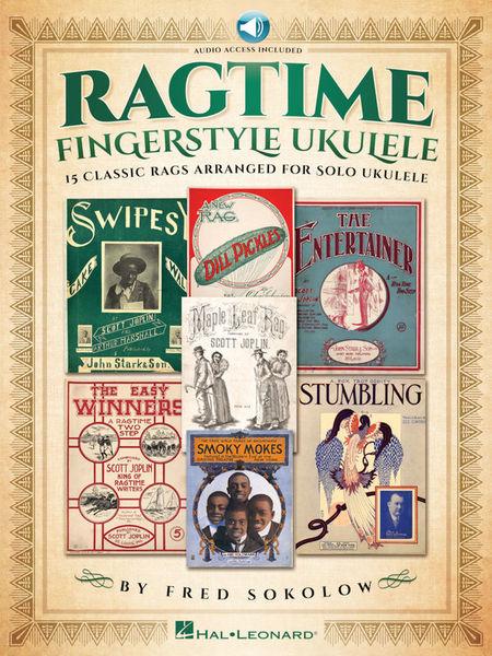 Hal Leonard Ragtime Fingerstyle Ukulele