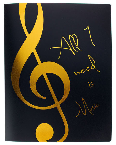 agifty Music Folder Gold