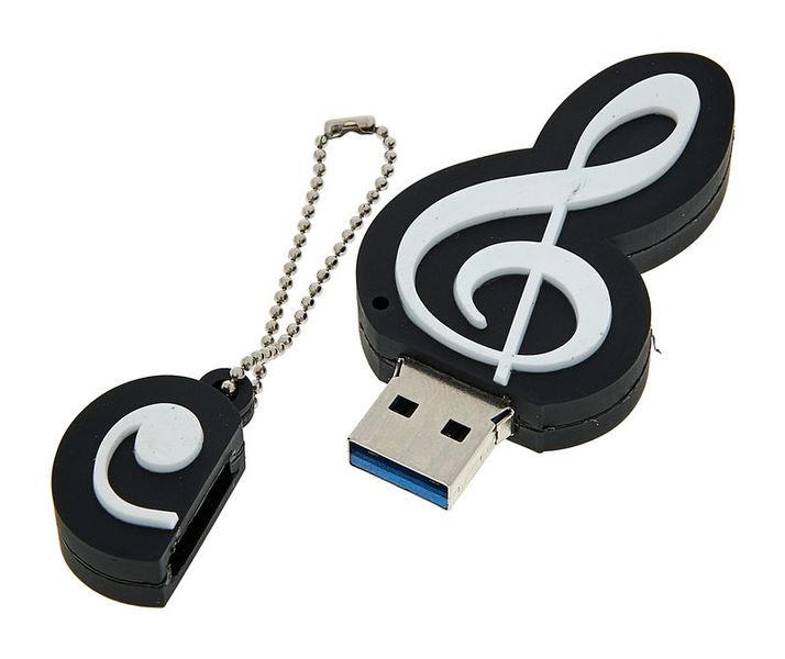 agifty USB Stick G-clef 3.0 32 GB