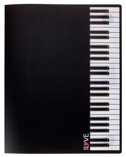 A-Gift-Republic Music Portfolio Keyboard Ring