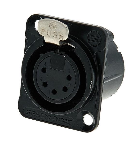 Seetronic MK5F2C-BG 5pin XLR black