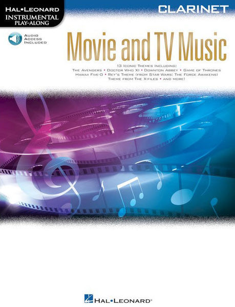 Hal Leonard Movie and TV Music: Clarinet