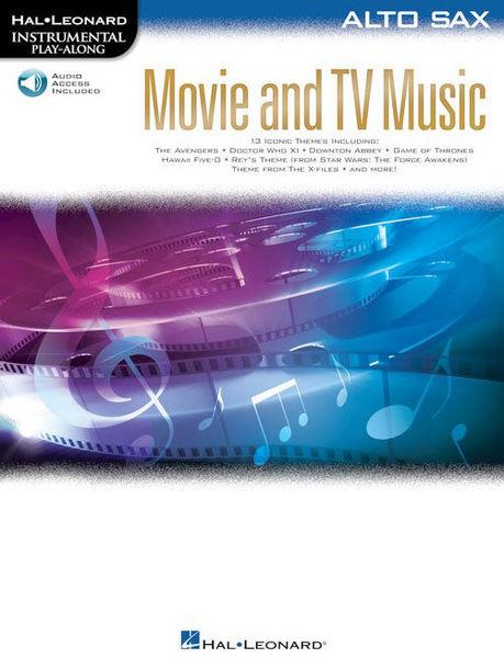 Hal Leonard Movie and TV Music: Alto Sax.
