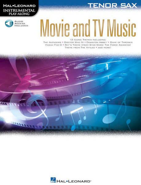 Hal Leonard Movie and TV Music: Tenor Sax.