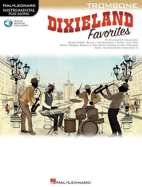 Hal Leonard Dixieland Favorites Trombone