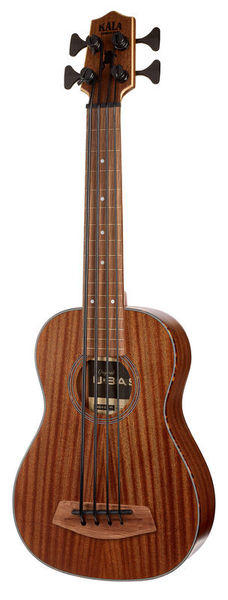 Kala U-Bass All Solid Mahogany FL