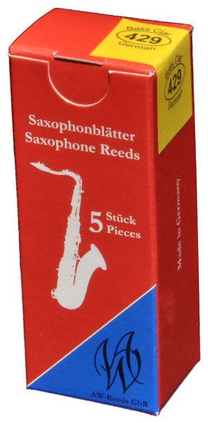 AW Reeds 429 Bass Clarinet German 2,5