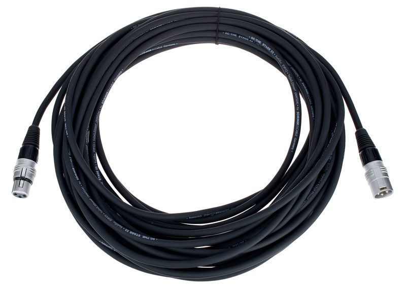 Sommer Cable Stage 22 SGHN BK 15,0m