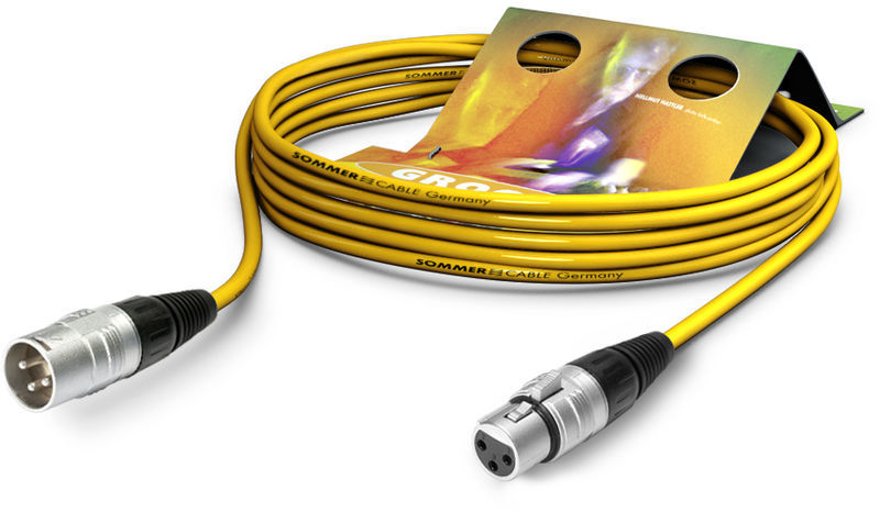 Sommer Cable Stage 22 SGHN YE 3,0m