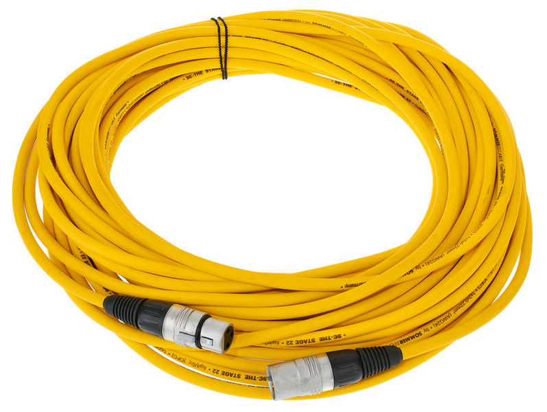 Sommer Cable Stage 22 SGHN YE 20,0m