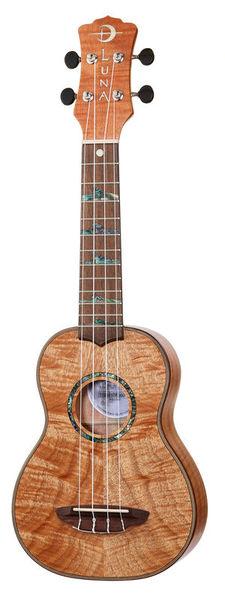 Luna Guitars High Tide Exotic MAH Sopran